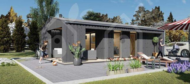 Casa de Madeira ABC 400 - T0, Pré-fabricada 38m2