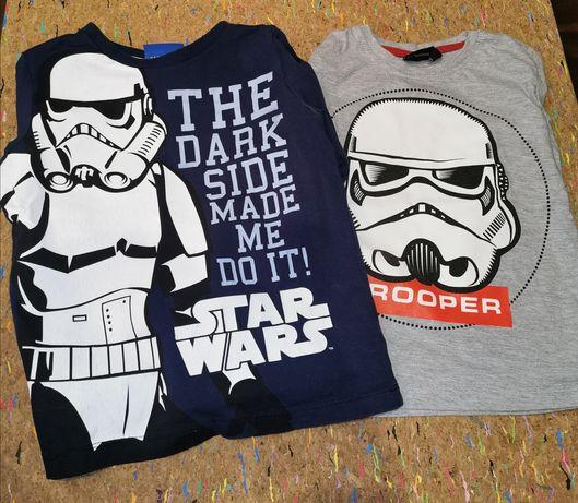 2 bluzki Star Wars 116 Gwiezdne Wojny