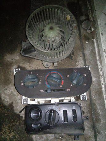 Włącznik świateł,panel sterowania nawiewu Fiat Doblo