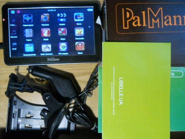 GPS навигатор PalMann 712A IGO