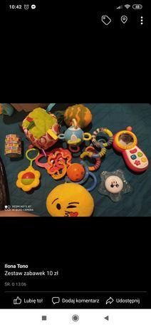 Zabawki dla maluszka