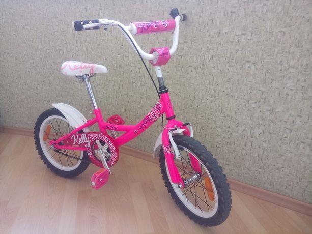 Велосипед для девочки 4-7 лет