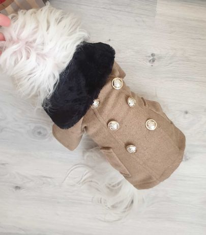 Пальто для собаки зимнее
