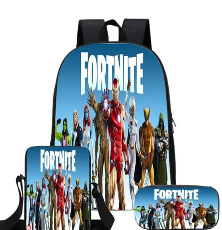 Fortnite nowy zestaw plecak piórnik torebka