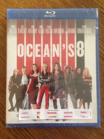 Ocean's 8 Blu-Ray nowa folia wysyłka