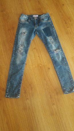 Джинси,штани на худеньку дівчинку 1.40-1.46 см зросту. Стрейч.