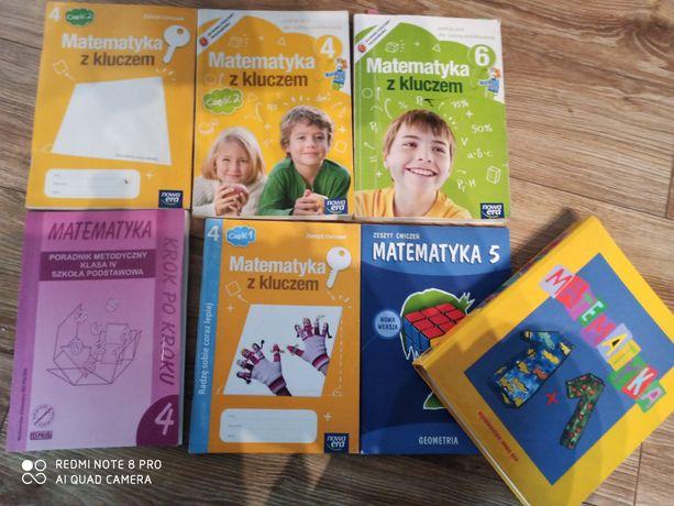 Podręczniki i zeszyty ćwiczeń - MATEMATYKA klasy 4 ,5 ,6 GWO, Nowa Era