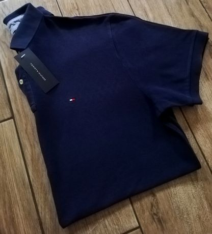 Tommy Hilfiger oryginalny męski t-shirt polo koszulka