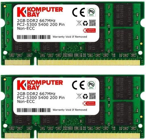 Оперативная память Komputerbay SODIMM DDR2-667 2048MB PC2-5300