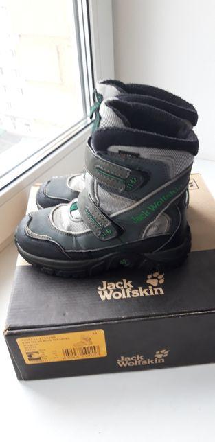 Зимние ботинки/сапоги Jack Wolfskin 30р.