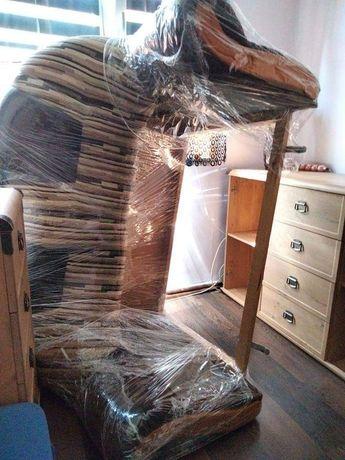 Sofa rozkladana uszanowana