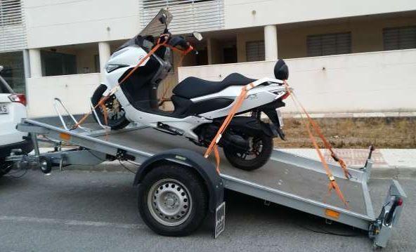 Transporte de motos do Porto para todo o país a baixo custo