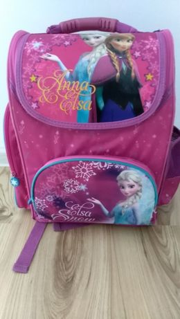 Plecak Tornister Frozen Anna i Elsa