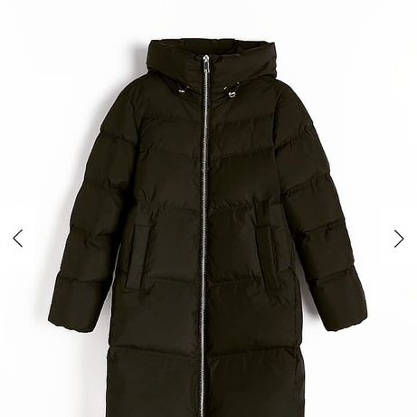 Пуховик резервед куртка reserved плащ пальто