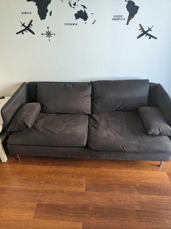 Sofa 3-osobowa, Samsta ciemnoszary