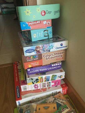 Jogos e puzzles de criança