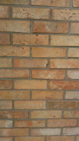 Płytki ze starej cegły płytki z cegły stara cegła lico kalibrowane