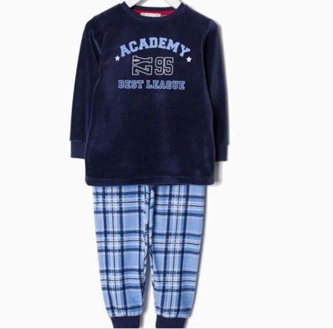 Pijama veludo 88-95cm - Zippy - nunca usado!