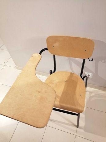 Krzesło drewniane szkolne