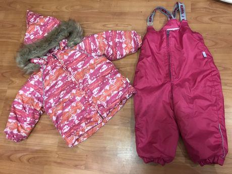 Зимний термо костюм Huppa р.86+ деми штаны