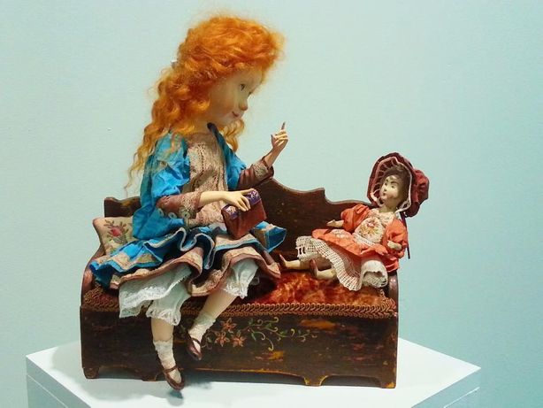 Авторская кукла. Интерьерные куклы ручной работы