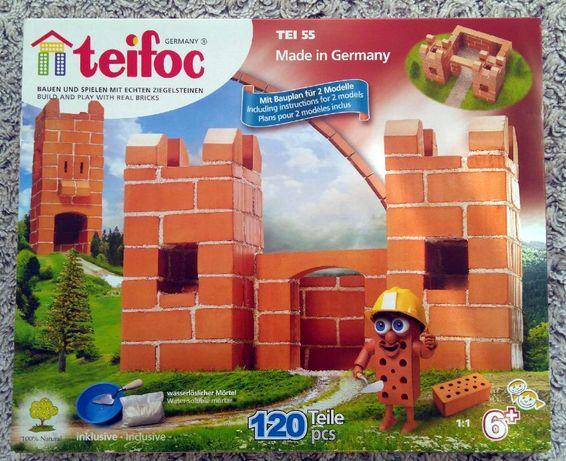 Teifoc TEI-55 - Mały zamek 2 plany 120 el., klocki konstrukcyjne