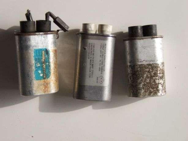 condensadores microondas