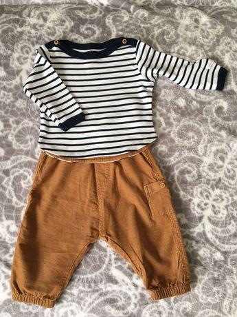 Bluzka i spodnie firmy h&m