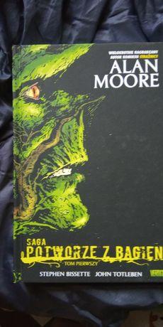 Saga o Potworze z Bagien Alana Moora tom 01