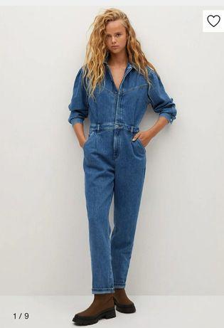 Kombinezon jeans Mango XL nowy