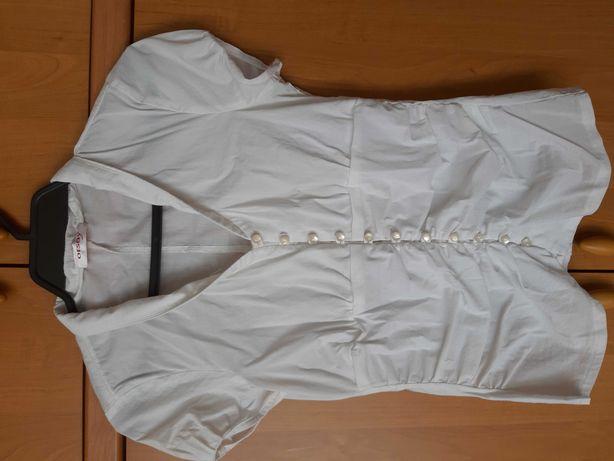 Koszulka biała galowa  2szt. rozmiar 36