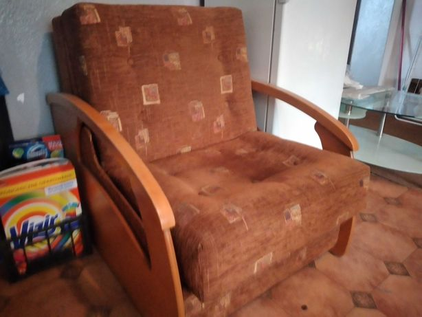 Fotel jednoosobowy, rozkładany, sofa