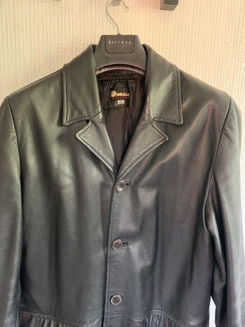 Płaszcz męski ze skóry rozm 54