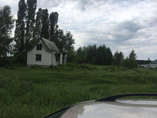Продам участок под застройку с недостроеным домом 35 соток.