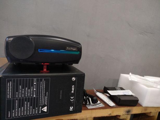 Led проектор TouYinger S1080 + крепление + экран
