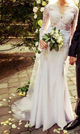 Свадебное платье Эксклюзивное р-р S