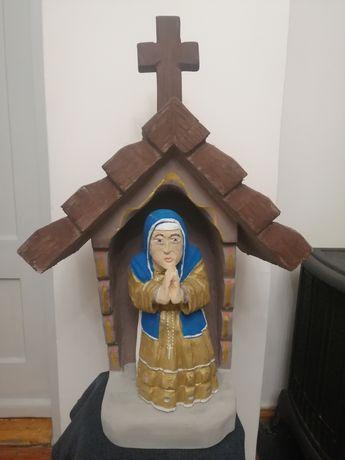 Kapliczka z Maryją sygn.
