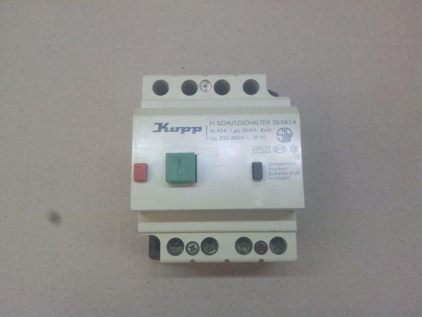 Interruptor Diferencial Kupp 40A/30mA 4 Polos 220/380V
