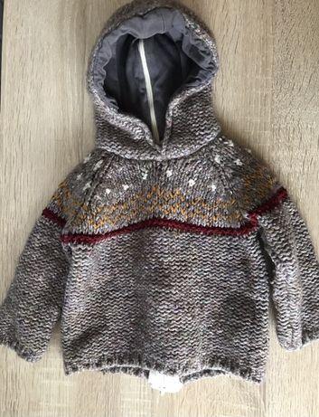 Sweter dziewczęcy Zara 68 74