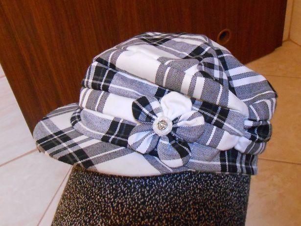 dziewczęcy kaszkiet, czapka z daszkiem