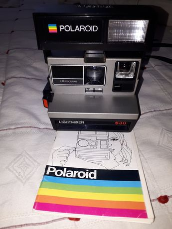Máquina fotográfica Polaroid Lightmixer 630