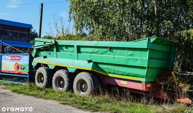 HERRON  Przyczepa rolnicza, wozidło techniczne, wywrotka HERRON 3 osie 25T
