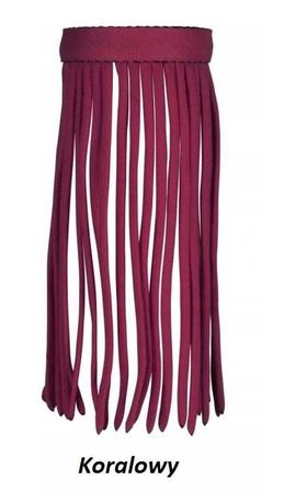 Naczółek z frędzlami Malaga York piękne kolory Full