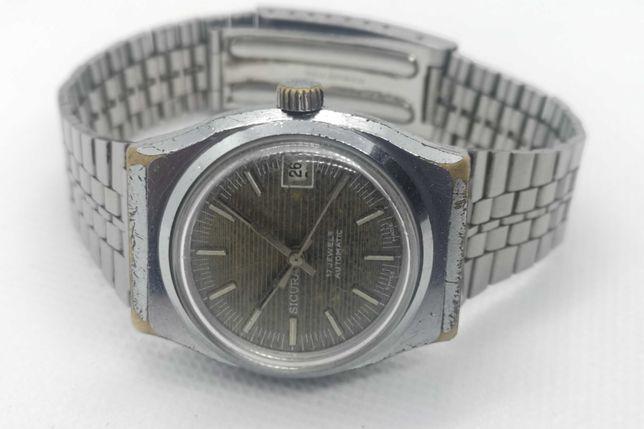 Relógio corda SICURA Automatic (Ronda 1239) - 17 Rubis - 34 mm