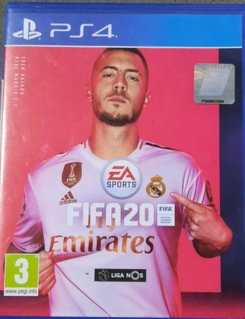 Jogo FIFA 20 (quase) novo, para PS4!