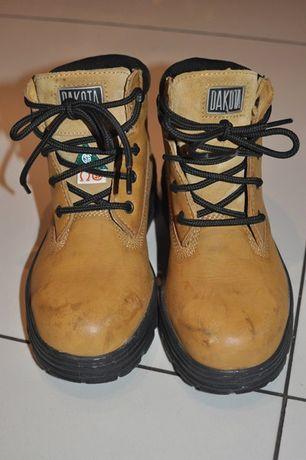 Buty robocze DAKOTA damskie rozmiar 37 z blacha skora naturalna