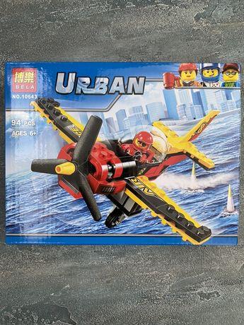 Конструктор Лего Lego вертолет самолет