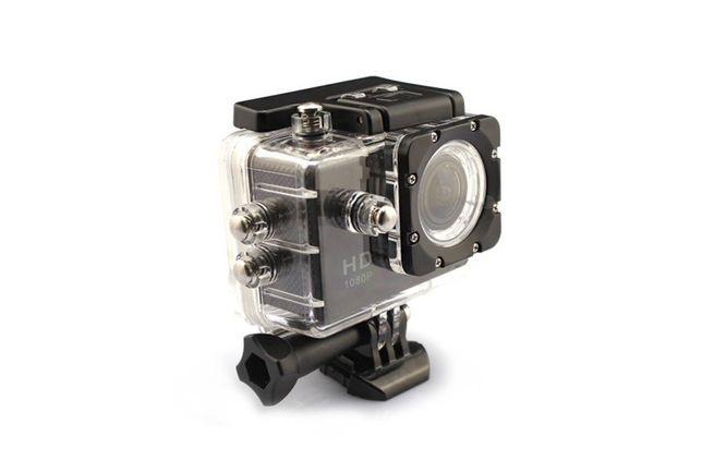 Экшн камера A7 FullHD + аквабокс + Регистратор Полный компект+креплени