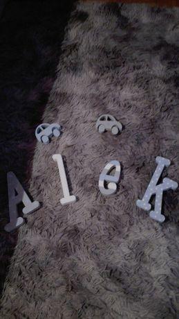 Literki imię Alek