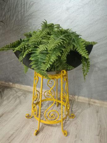 Stojak na kwiaty lub parasole żeliwny